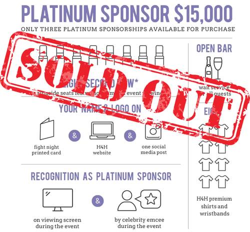 Platinum Sponsor Image SOLD OUT